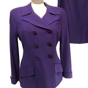 CHRISTIAN DIOR Gorgeous Vintage Skirt Suit